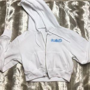 Comfy crop top sweater